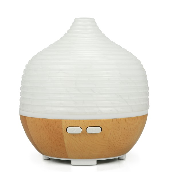 200ml LED Glass Aroma Diffuser with Waterless Auto-Off Function, BPA Free for Baby, Mum, Decor for Home, Office, Garden