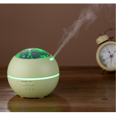 150ml Electric Ultrasonic Aroma Diffuser Household Mini Humidifier with Creative Atmosphere Night Light for Yoga, Home, Bedroom