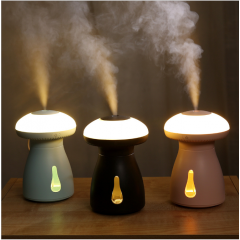 Cute Mushroom Air Humidifier - 240ml Ultrasonic Humidifier with LED Lights, Portable Mini USB Diffuser Manufacturer